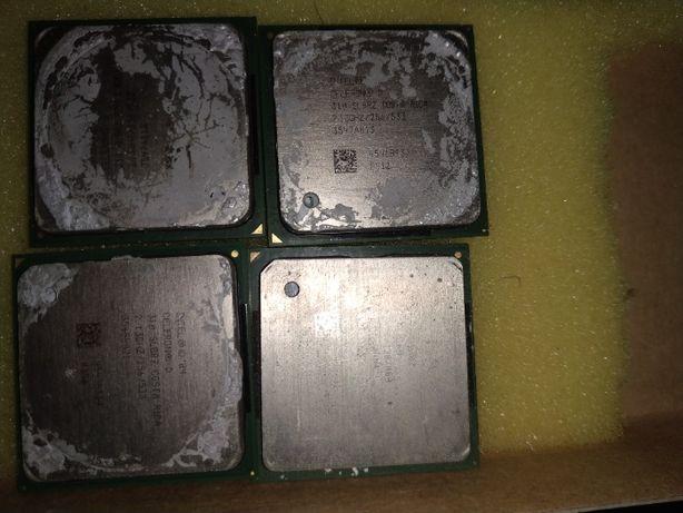 Процессор Intel Celeron D 310 478 Socket tray