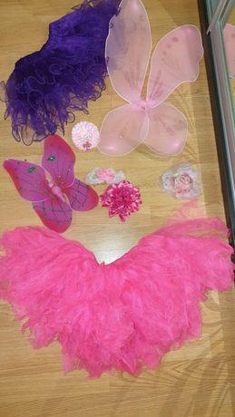 Новогодний костюм бабочки для девочки