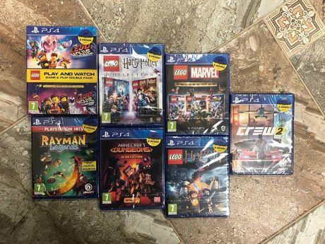 LEGO Harry Potter Minecraft Marvel movie hobbit dungeons PS4 Пс4