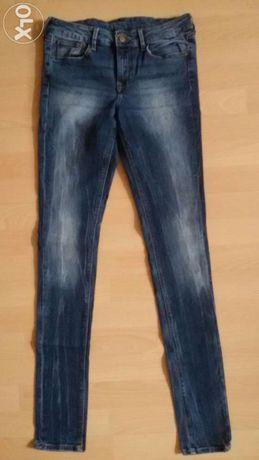 Spodnie jeans ZARA TRAFALUC (38)