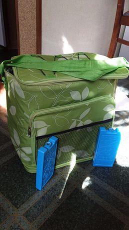 Сумка-холодильник с аккумуляторами холода
