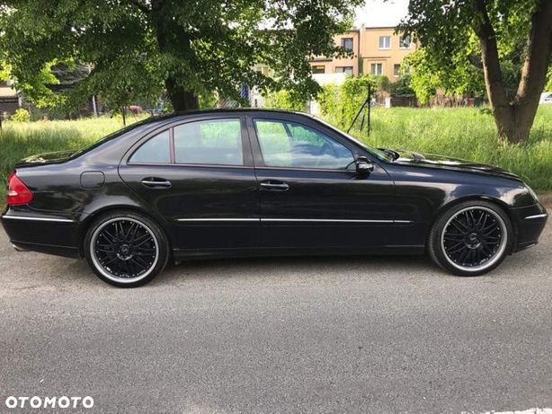 Mercedes-Benz Klasa E Mercedes benz Brabus