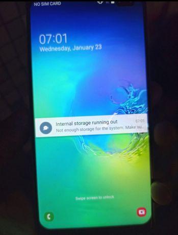 Телефон Samsung s10+ 512gb надо прошить