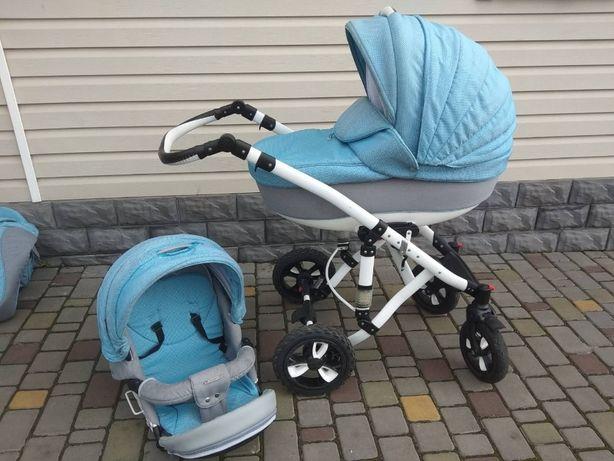 Дитяча коляска 2в1 добротної якості