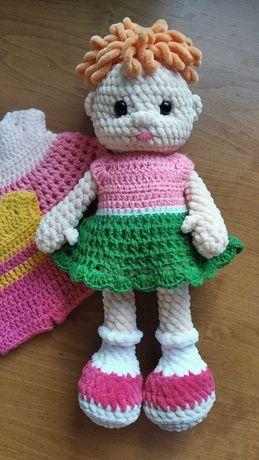 Кукла вязаная крючком одежда для кукол подарок девочкам