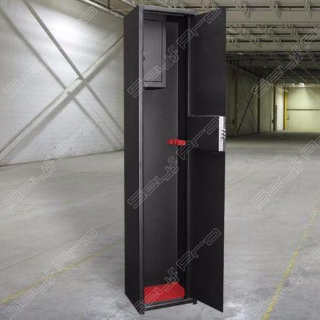 Сейф для оружия/ружья в собранном виде. Высота 1400 мм.