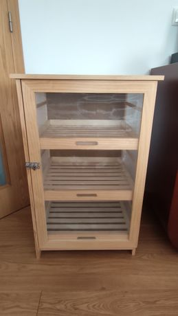 Armário de madeira para fruta e legumes