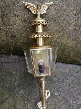Lampa powozowa. Antyczna
