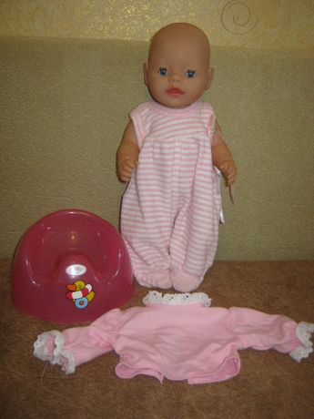 кукла пупс беби борн zapf с активным пупком