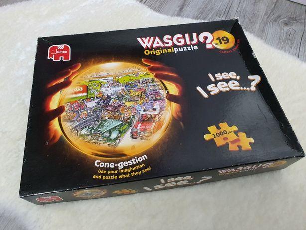 JUMBO puzzle Wasgij Original Cone-gestion No 19 na 1000 Elementów