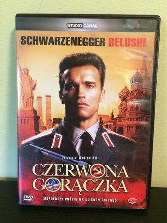 Czerwona gorączka DVD Schwarzenegger Belushi