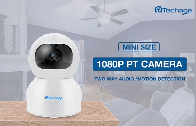 Розумна IP Камера HOME 1080P 2 Mегап. Wi-Fi Zoom AUTO TRACKING iCSee