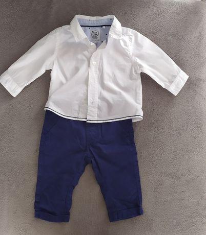 Koszula i spodnie 62