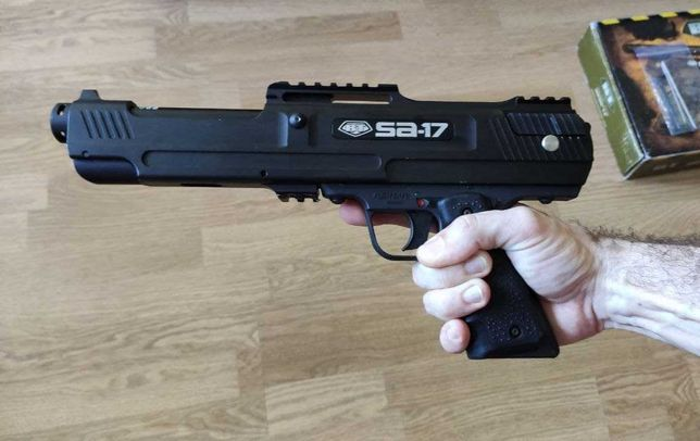 Маркер для пейнтбола BT SA-17, пейнтбольный пистолет