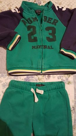 Bluza spodnie dresowe Mayoral komplet 3sztuki  rozm.24mies.