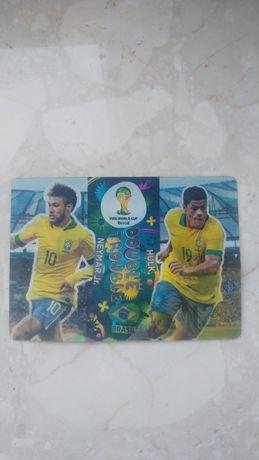 Karta fifa world cup Brasil DoubleTrouble Neymar&Hulk