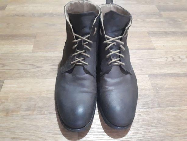 Мужские демисезонные кожаные ботинки John Rocha 42 размер