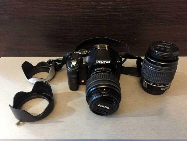 Aparat fotograficzny, lustrzanka PENTAX K-X