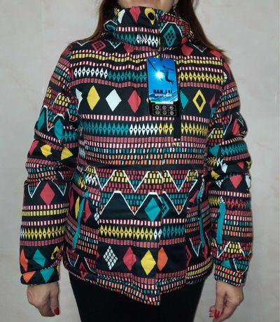 Горнолыжная женская куртка S,M,L,XL