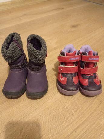 Buty zimowe 24 dla dziewczynki