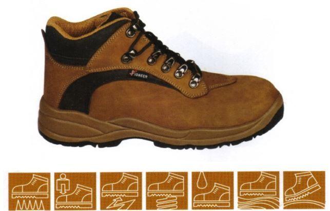 botas de proteção Pioneer camel