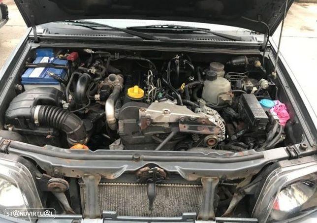 Motor Suzuki Jimny 1.5ddis 65cv K9K262 Caixa de Velocidades Arranque + Alternador Arcondicionado