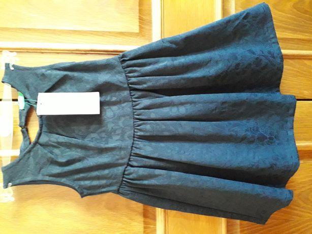 Vestido azul escuro Benetton. PVP:40€.Nunca usado