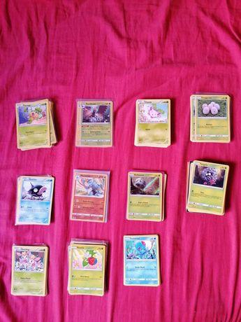Cartas Pokemon: Bulk Vários Sets
