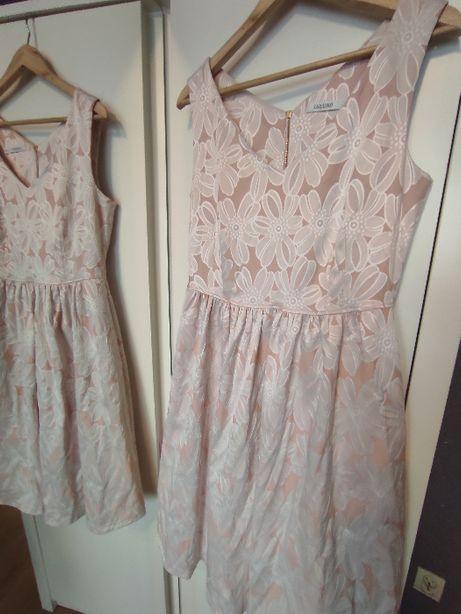 Taranko oryginalna zjawiskowa sukienka perełka 40