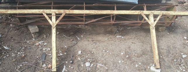wałek wał strunowy płaskownikowy rurowy 250cm