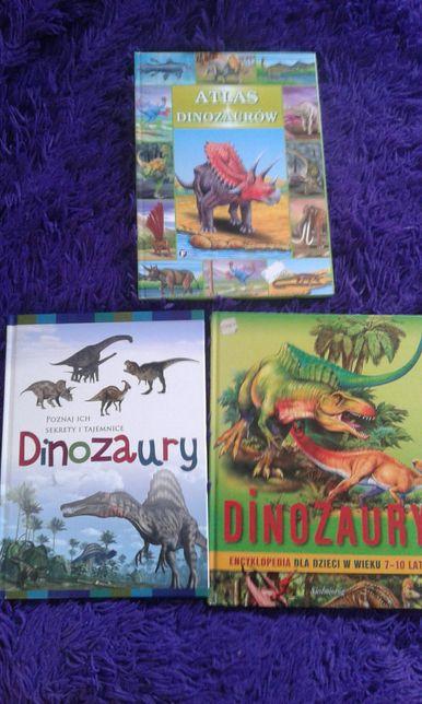 Dinozaury encyklopedia Atlas