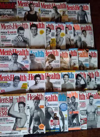Lote de 32 revistas Men's Health