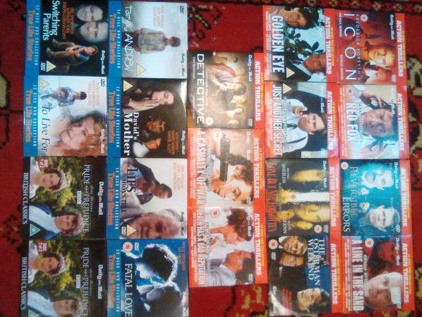 39 sztuk filmy baśnie thriller i inne dvd  anglojęzyczne