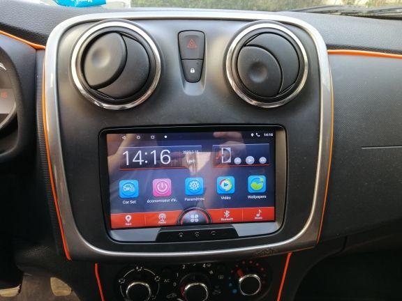 Магнитофон Renault Dacia Logan Sandero Duster Dokker Магнитола Рено