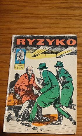 """Komiks Kapitan Żbik """"RYZYKO"""" cz. I wyd. I 1968 r"""