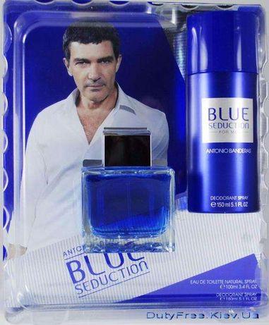 Подарунковий набір Antonio Banderas Blue Seduction