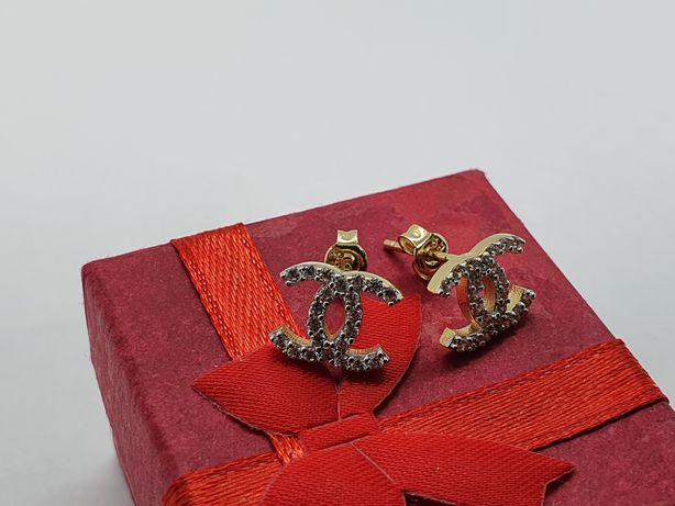 Kolczyki złote 585