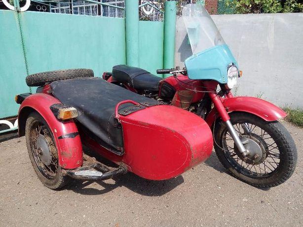Мотоцикл с коляской КМЗ МТ 10 36 Днепр