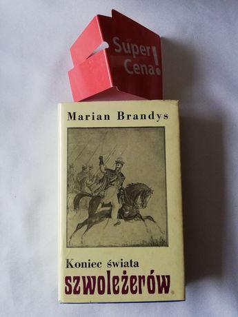 """książka """"koniec świata szwoleżerów"""" tom 5 cz 2 Marian Brandys"""