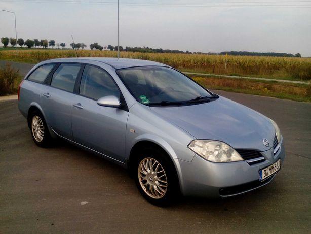 Nissan Primera P12 Kombi,1,8 benzyna z Niemiec,orginal 161 Tkm