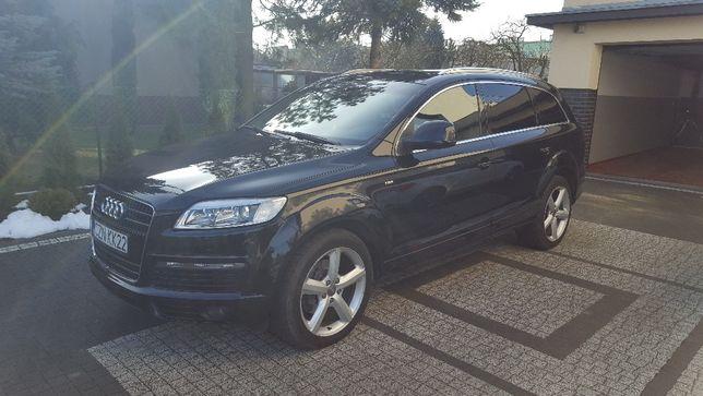 Audi Q7 Sline 4,2 w bardzo dobrym stanie sprzedam