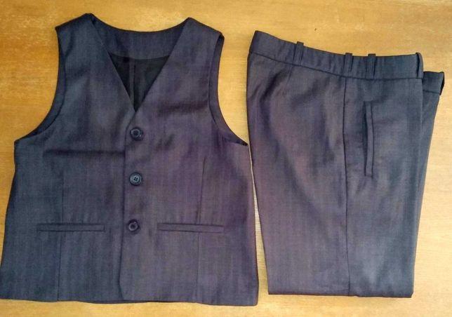 костюм для плотного школьника