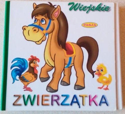 Książeczka rozkładana Wiejskie zwierzątka Z054