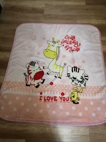Плед детский, одеяло детское, покрывало детское