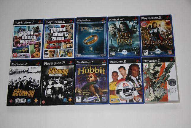 Zestaw gier PS2 - 2