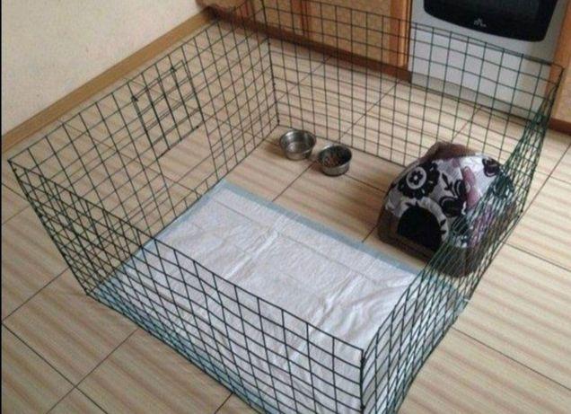 Манеж. Клетка. Вольер для собаки. Ограждение. Для щенка. Барьер
