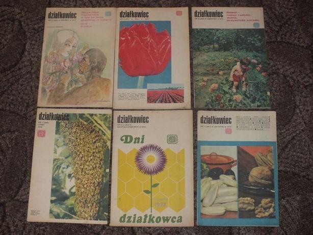 Czasopismo Działkowiec lata 82-94