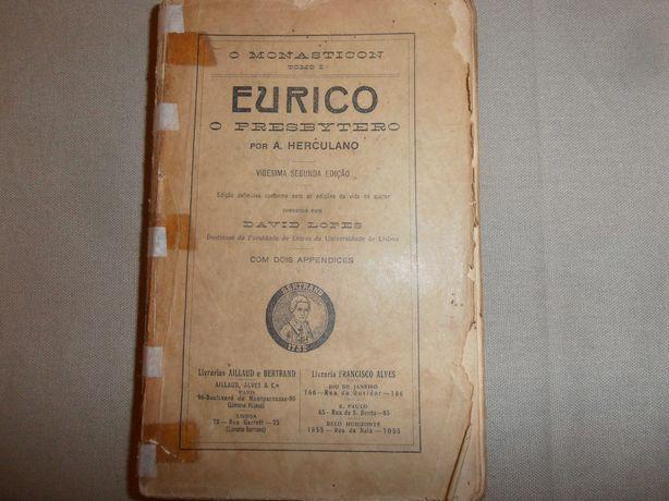Eurico o Presbytero de Alexandre Herculano 1918