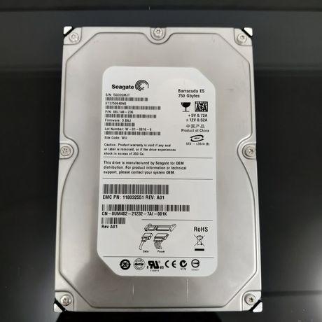 Disco rígido 750gb SATA 3.5 + caixa externa oferta