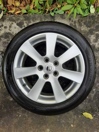 """Felgi aluminiowe BORBET 5x114,3 17"""" opony lato zima Renault megane III"""
